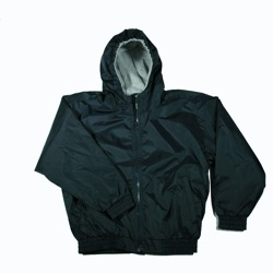 Unisex Fleece Lined Nylon Jacket