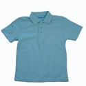 Girls Short Sleeve Polo K-4 SVDP